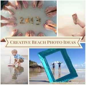 creative beach photo ideas