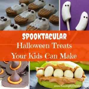 6 Spooktacular Halloween Treats Your Kids Can Make