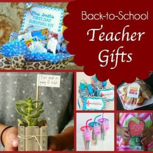 13 Back to School DIY Teacher Gifts