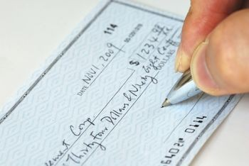 Write a Check to Stay Safe   Bradford Exchange Checks When you go to the store to make a purchase  you have multiple payment  options  Cash  check  credit card or debit card  There are even ways of  paying for