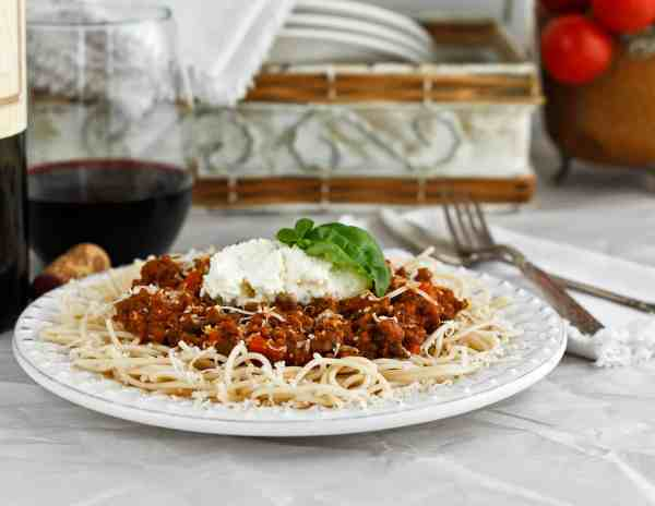 Convenient when made ahead for easy meals anytime. Can also serve with spiralized vegetable noodles.