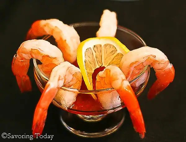 Liven up a simple Cocktail Shrimp with Thai Chili Cocktail Sauce