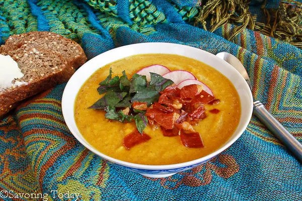 Curry-Spiced Butternut Squash Soup