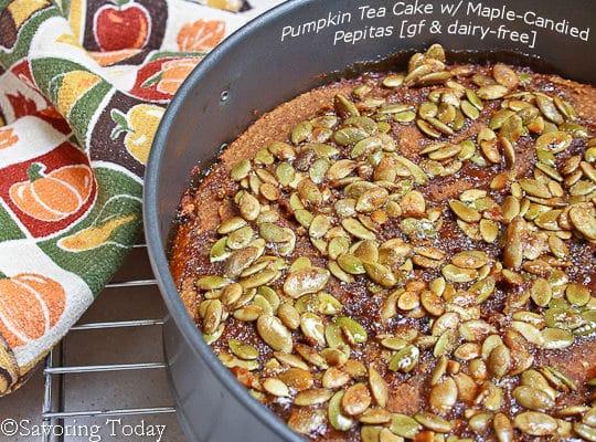 Pumpkin Tea Cake - Pepitas copy