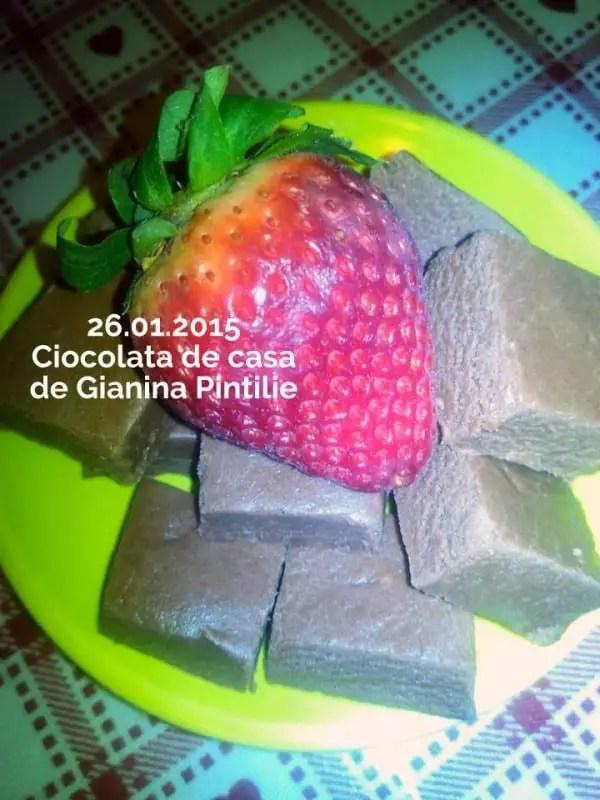 for Ciocolata de casa reteta clasica