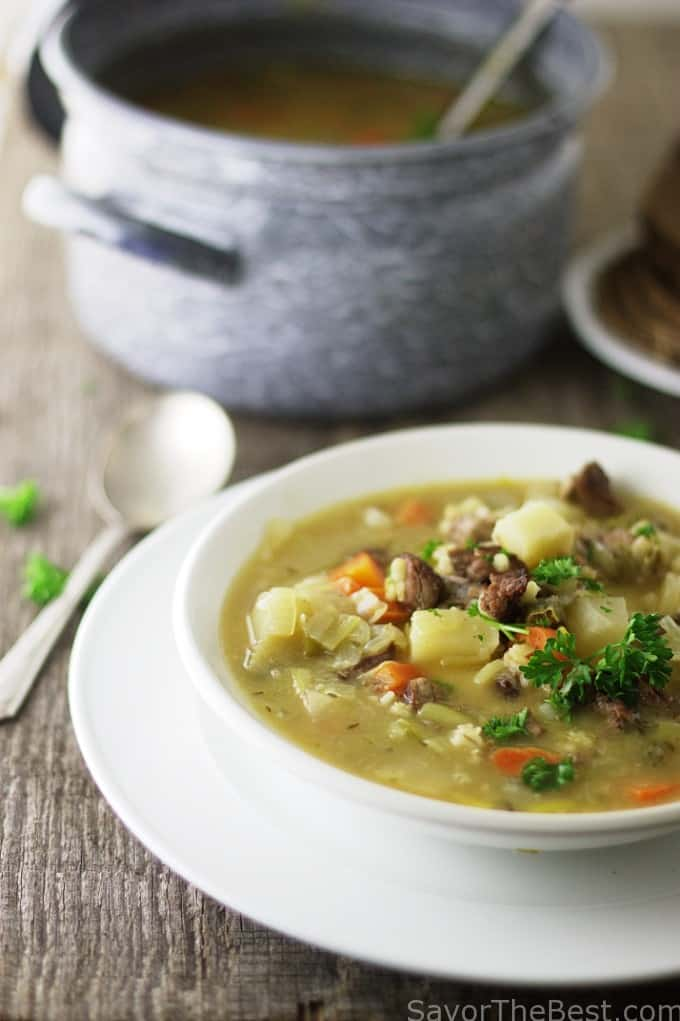Scotland's classic scotch broth is a soul-warming soup that is ...