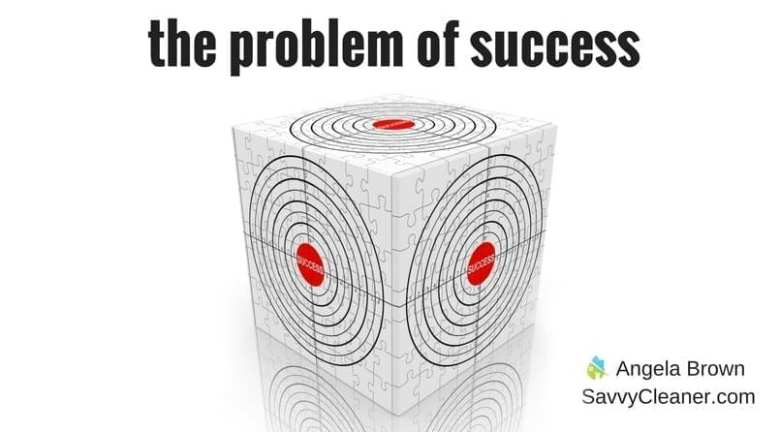 Problem with Success @SavvyCleaner