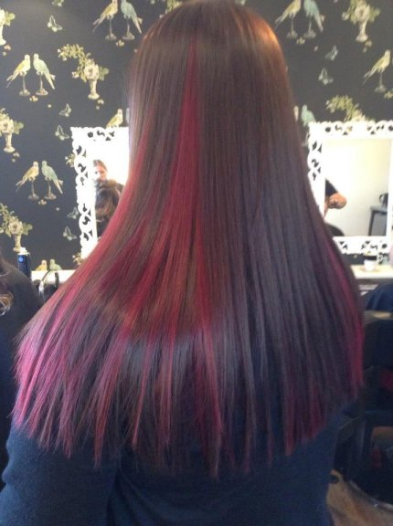 Colour and straightening
