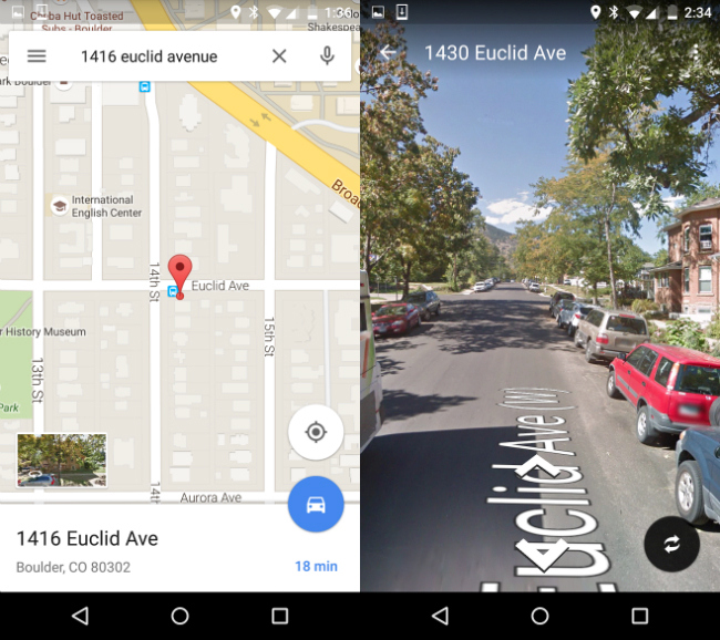 Google Maps Brings Street View to Android for Even Better Navigation     Google Maps Brings Street View to Android for Even Better Navigation