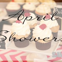 WEDDING WEEK: APRIL SHOWERS