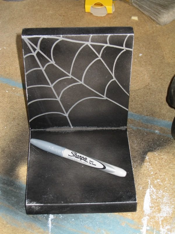 spiderweb bookend