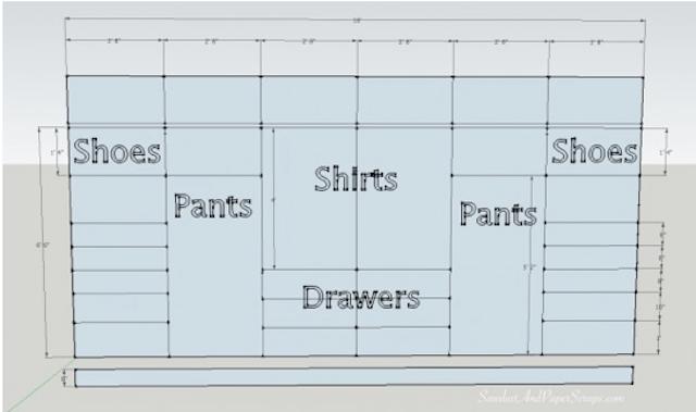 Closet Design Plans. How To Plan And Design A Builtin Closet O