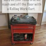 rolling work cart