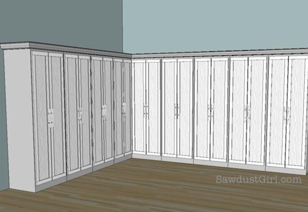 Studio cabinet door ideas