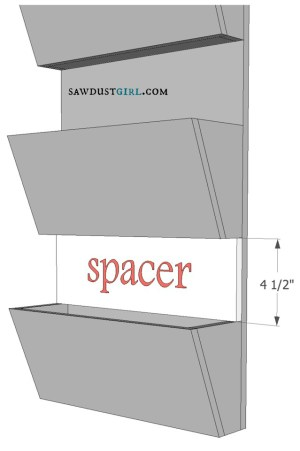diy letter bin plans at SawdustGirl.com