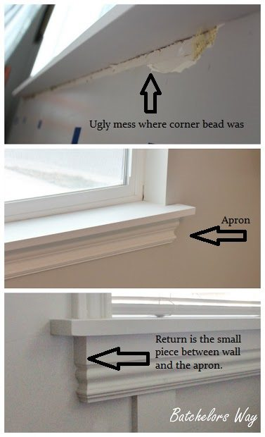 How To Install A Window Sill And Trim Sawdust Girl 174