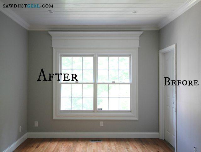 Trick out your trim molding - SawdustGirl.com