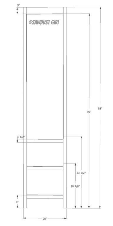 Tower step 6  Faceframe