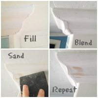 light weight spackle to fix gaps 4