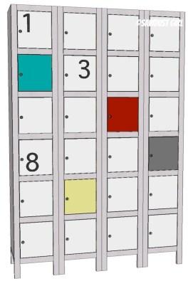 Toy and Shoe Locker Storage - Free Plans