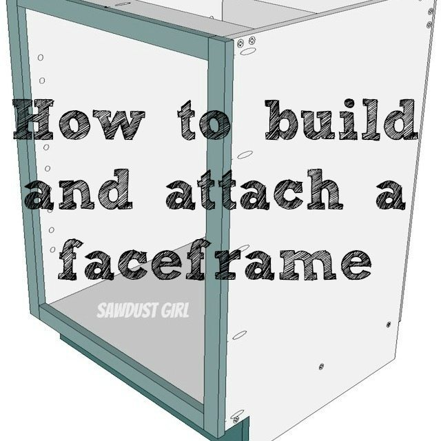kitchen hutch cabinet plans with How To Build And Attach A Cabi  Faceframe on China Cabi  Vs Hutch besides Modular Kitchen 13 likewise Large White Secretary Desk furthermore Diy Kitchen Cabi  Organizers in addition How To Build And Attach A Cabi  Faceframe.