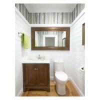 powder room reveal square