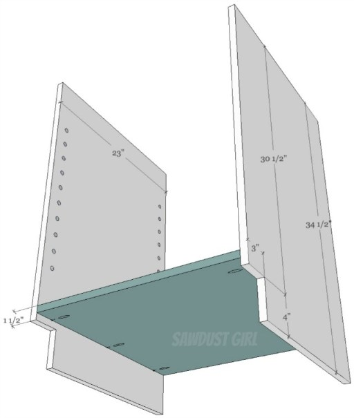 How to build a cabinet with pocket hole screws