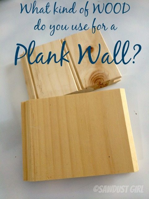 How to install a Plank Wall - tongue and groove