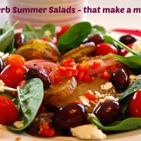 4 amazing salads that will delight and satisfy you! Full of nutrients and flavor!