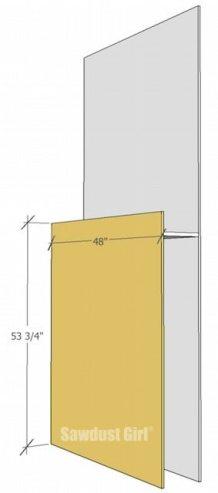 Lumber Storage Unit on Wheels - step2