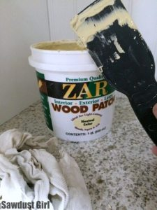 Best wood patch/putty in the history of ever! - https://sawdustgirl.com.