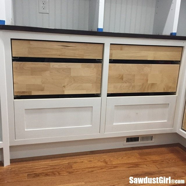 Building Drawer Fronts For Cabinets And Furniture Sawdust Girl 174