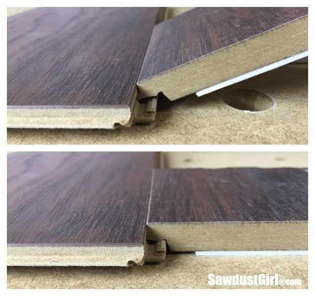 Pergo Laminate Flooring Installation - Sawdust Girl®