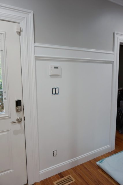 Creating a custom coat rack with moulding