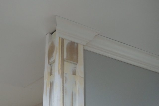 Decorative column and crown moulding day 27 sawdust girl Crown columns