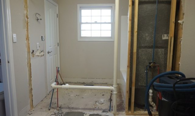 How To Remodel A Jack And Jill Bathroom : Jack and jill bathroom remodel begins sawdust girl?