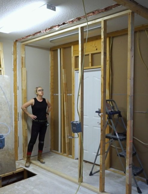Wall Jacks For Framing jack and jill bathroom - framing - sawdust girl®