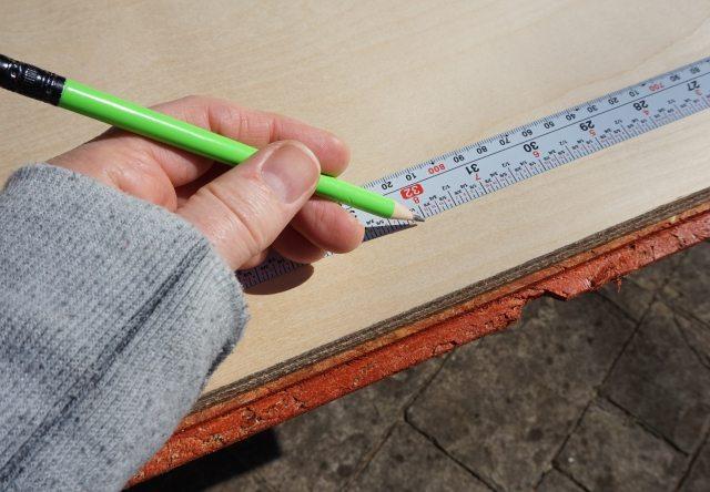 Flatback measuring tape