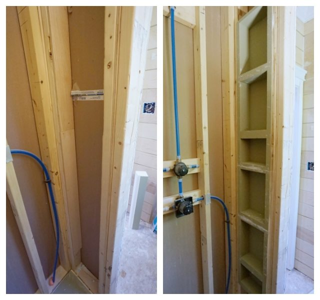 Waterproof Wall Board : Waterproof shower wall board installation sawdust girl
