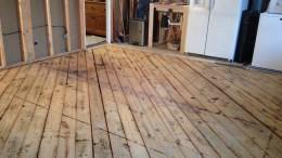 Sub-floor -1 x 6 slatting