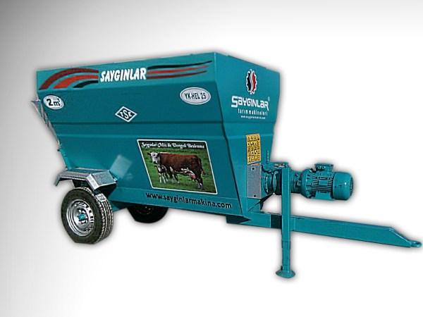 Feed Mixer Tmr Wagon 2m3
