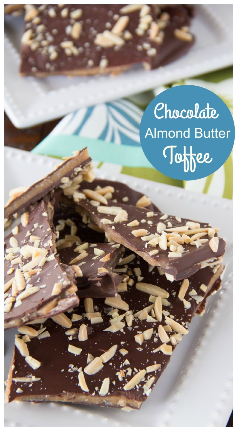 Chocolate Almond Butter Toffee | Say Grace