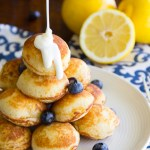 Lemon Blueberry Pancake Poppers
