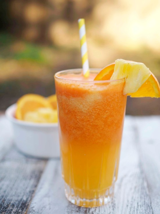 Orange Pineapple Carrot Juice - Say Hello