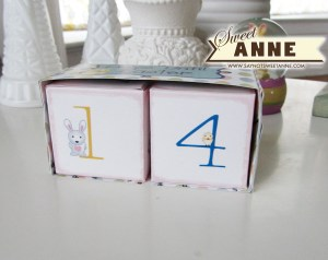 Easter Countdown at Saynotsweetanne.com