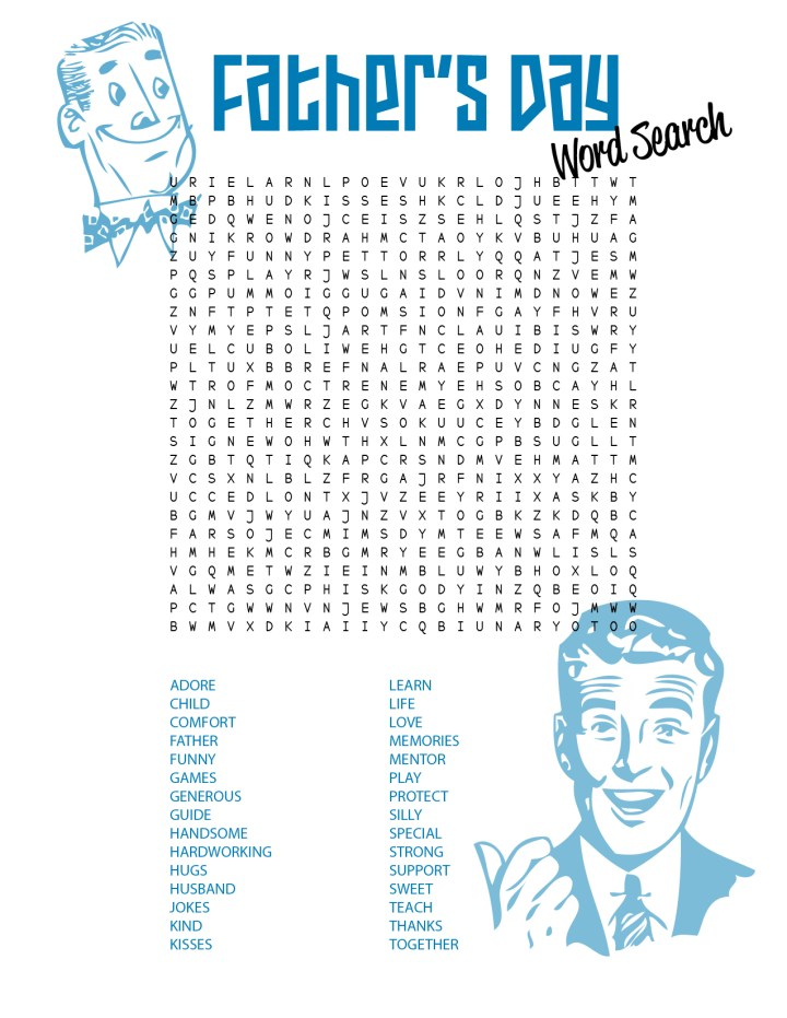 Mothers Day Word Search Printable. .Free Print Holiday Word Search