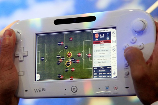 Nintendo's Wii U controller (Credit: Associated Press)
