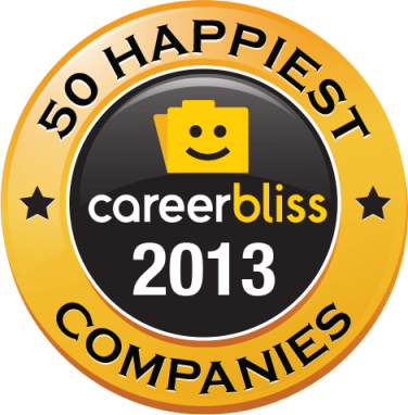 50 Happiest Companies (Credit: CareerBliss)