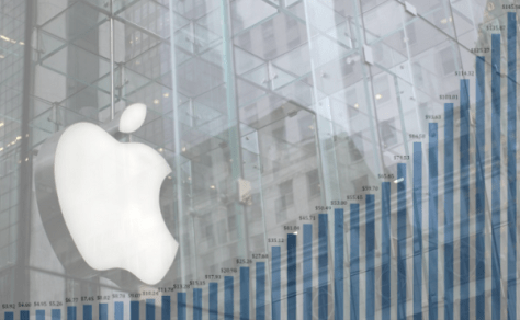 Apple quarterly earnings are record high