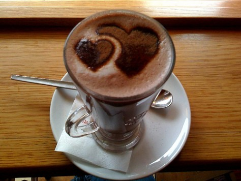 Hot Chocolate in the cup